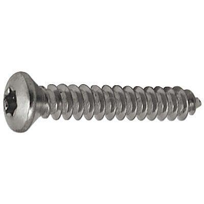 Screw Torx Oval Chrome Pltd 4.2mm x 55mm