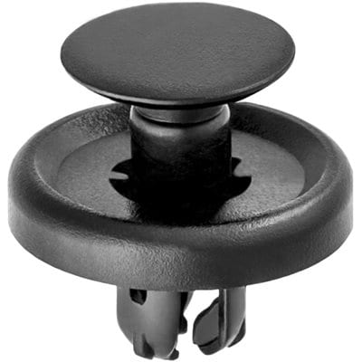 Toyota Push Pin Nail mm Hole mm Washer mm Stem Black WF