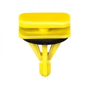 Yellow Moulding Clip Rocker wSeal mm Holemm Stem WF