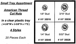 American Thread Cut Nut Assortment Tray