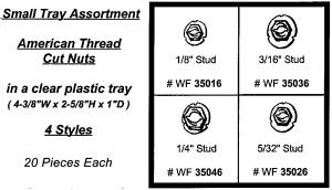 American Thread Cut Nut Assortment Tray