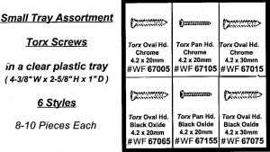 Assortment Tray Torx Screws