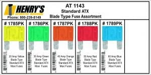 assortment tray maxi blade fuses