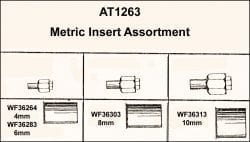 Assortment Tray Metric Inserts