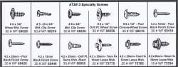 Assortment Tray Sheet Metal Special Screws