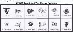Assortment Tray Nissan Grommets