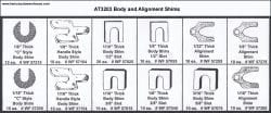 Assortment Tray Body and Alignment Shims