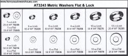 Assortment Tray Metric Washers