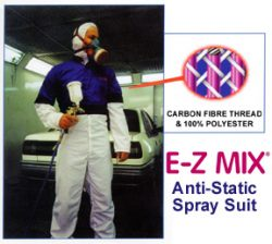E-Z Mix spray suit