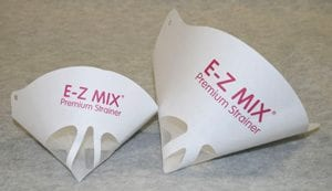 E-Z Mix Paint Strainer